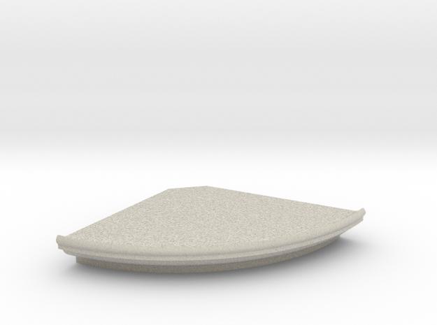 Corner Shelf 18x18 in Sandstone: Medium