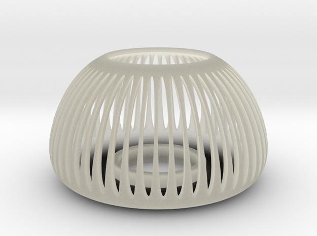 Tea Light  Holder in Transparent Acrylic: Medium