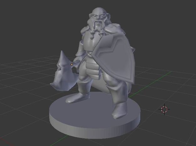 Dwarf Male Fighter - Ghelryn Foehammer