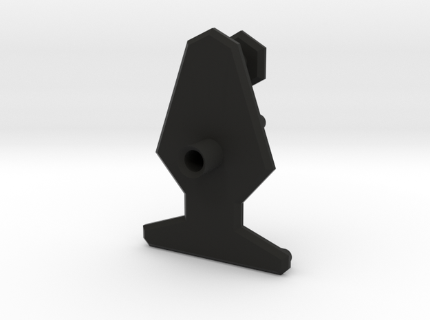 Quick Gas Can Mount SMG001 in Black Natural Versatile Plastic