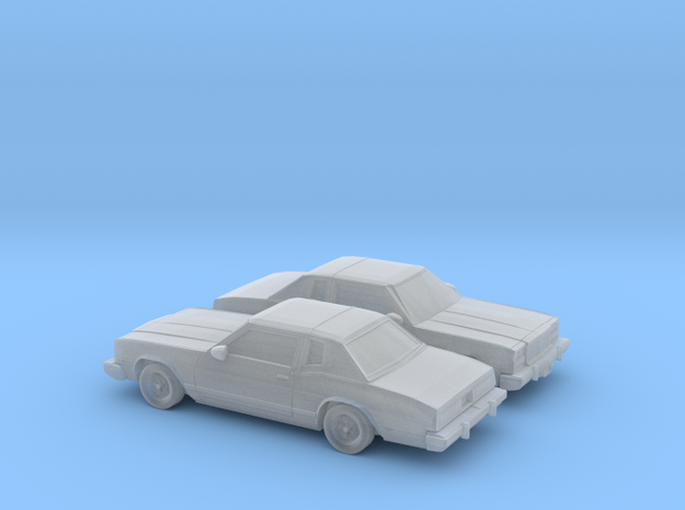 1/160 2X 1978 Buick Riviera in Frosted Ultra Detail