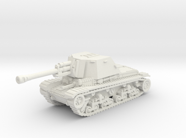 Tacam R-2 (Romania) 1/87 in White Natural Versatile Plastic
