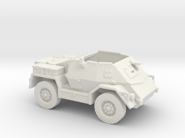 Pattern Wheeled Carrier (New Zealand) 1/144 in White Strong & Flexible