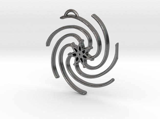 Seven Lines III - Spiral Star