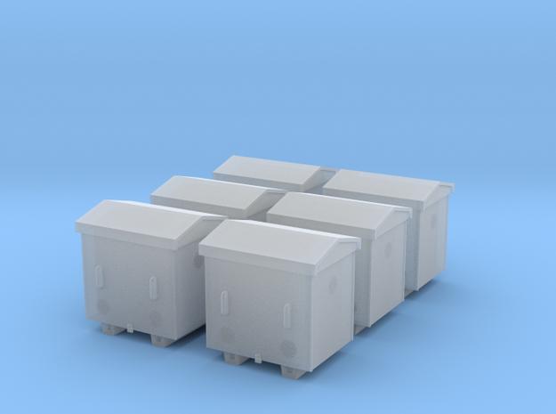 TJ-H04652x6 - Caisses à piles acier galvanisé peti in Frosted Extreme Detail