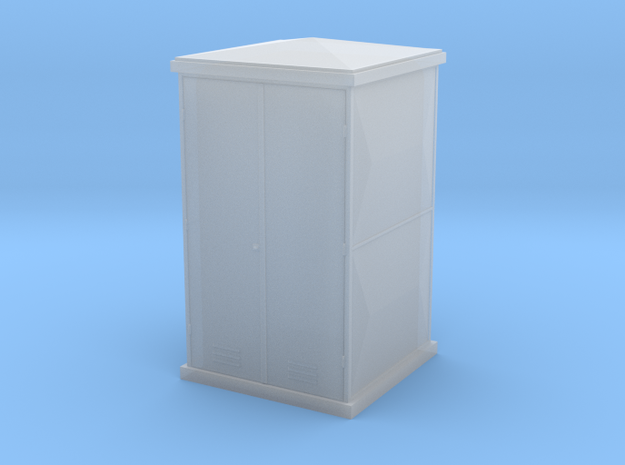 TJ-H04657 - Armoire electrique fibrociment in Frosted Ultra Detail