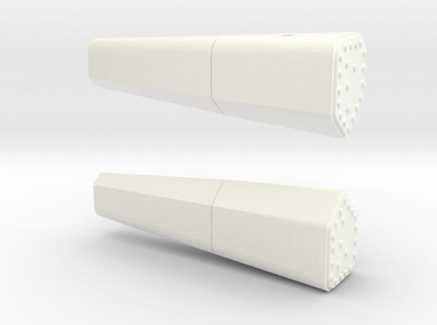 1.9 DETECTEUR RAFALE in White Processed Versatile Plastic