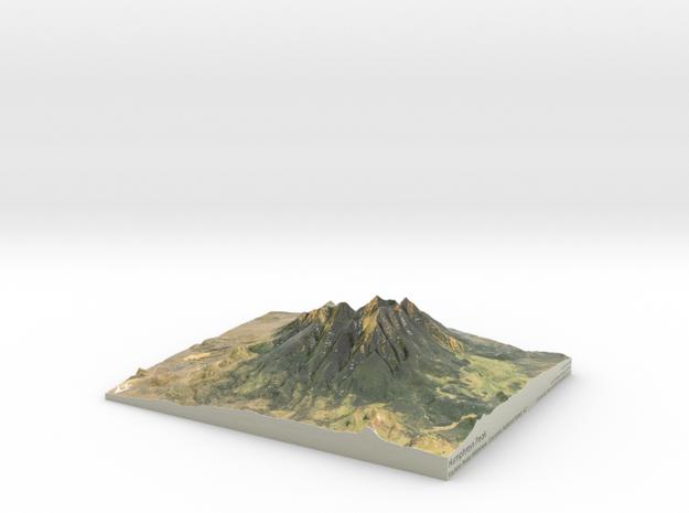 "Humphreys Peak Map: 8""x10"""