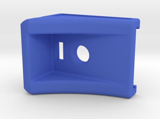 Magazine Grip Extension for G17 in Blue Processed Versatile Plastic