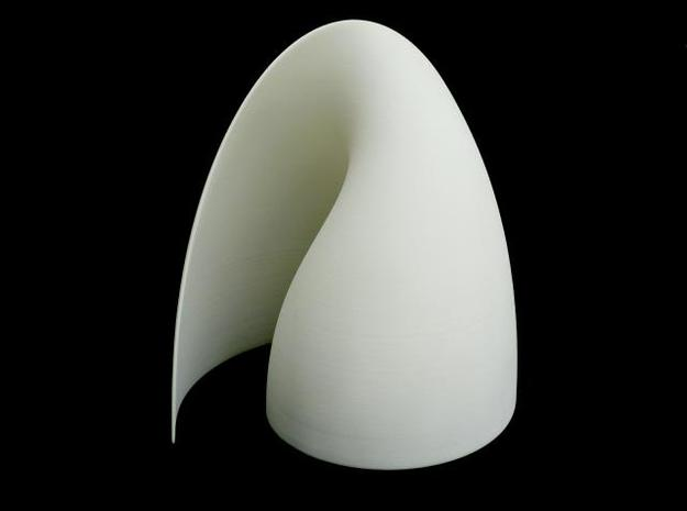 Shy-light - Eno (L) in White Natural Versatile Plastic