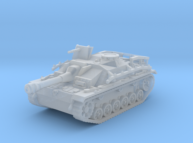 Sturmgeschutz III tank (Germany) 1/144 in Smooth Fine Detail Plastic