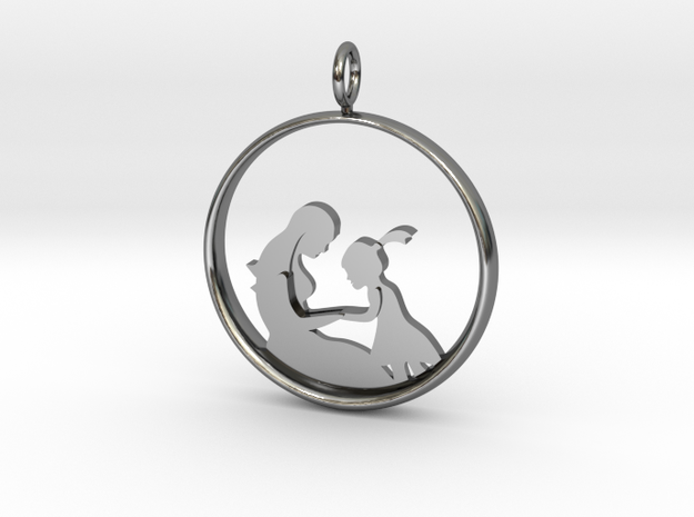 Mother & Daughter Pendant 2 -Motherhood Collection