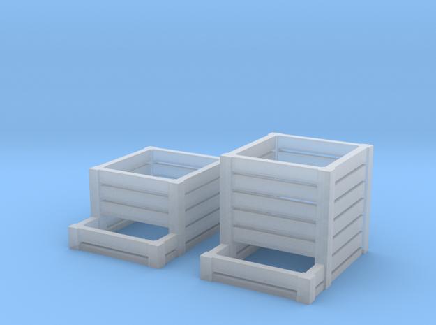 TJ-H01127x2 - Composteurs en bois in Smooth Fine Detail Plastic