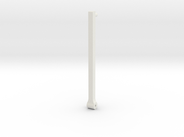 EMD Locomotive Stanchion 53 Inch in White Natural Versatile Plastic
