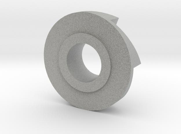 Revolver Spinner Top in Metallic Plastic
