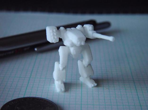Terran Combat Walker in White Strong & Flexible
