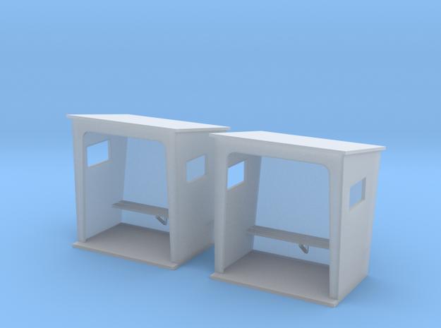 TJ-H01131x2 - Abribus beton, petits