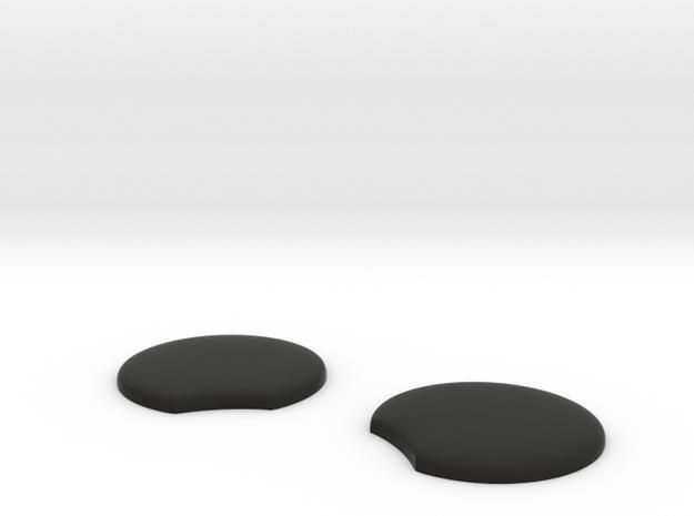 BIG HOOD ORNAMENT MICKEY EARS  in Black Natural Versatile Plastic