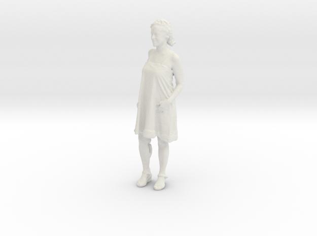 Printle C Femme 294 - 1/43 - wob in White Natural Versatile Plastic