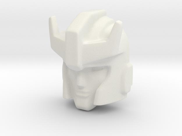 Headmaster Prowl in White Natural Versatile Plastic