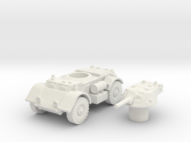 T17 Staghound (Usa) 1/144 in White Natural Versatile Plastic