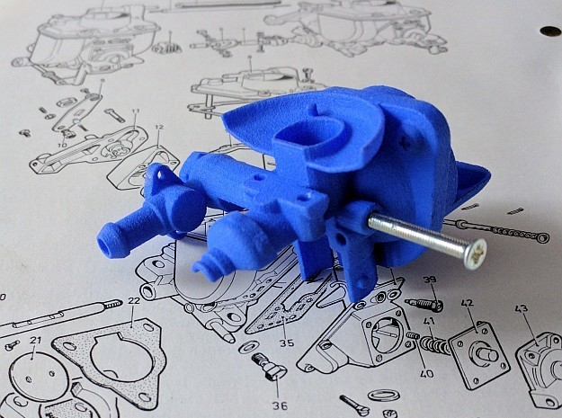 Fuel for Inventions in Blue Processed Versatile Plastic: Small