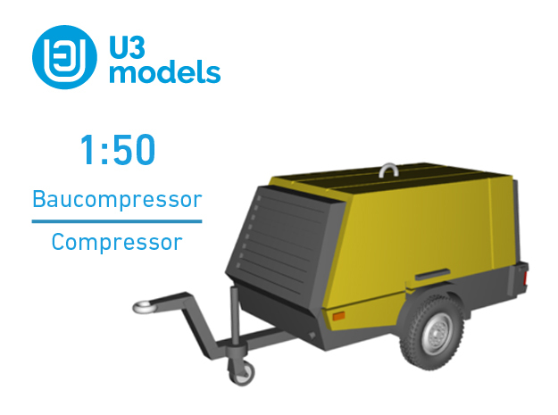 1:50 Baukompressor / Construction Compressor / KAE