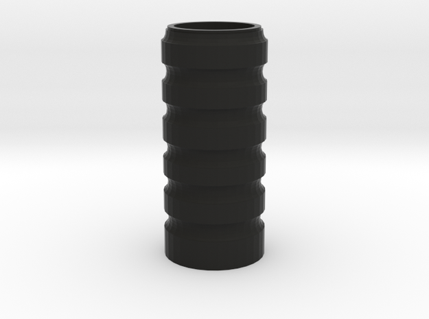 Billy Club Grip Top Section in Black Natural Versatile Plastic