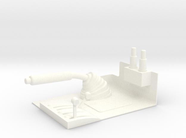 1.5 MANCHE COLLECTIF LAMA in White Processed Versatile Plastic
