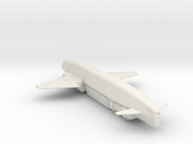 Knecht-class Heavy Shuttle in White Strong & Flexible