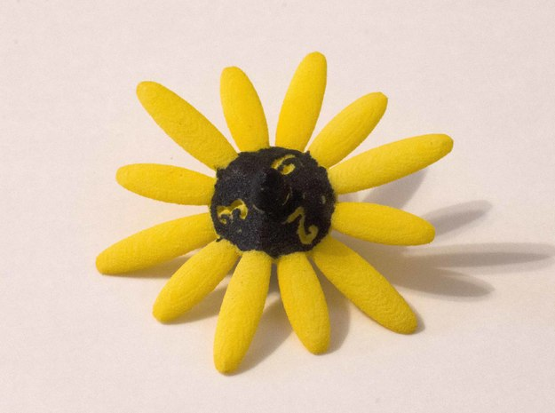 Daisy D6 in Yellow Processed Versatile Plastic