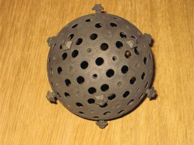 Big Boulder - parts 1-2 of 5 3d printed Spherical core