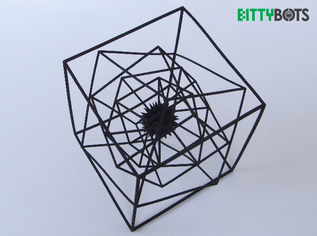 Spatial Anomaly 3d printed Top View