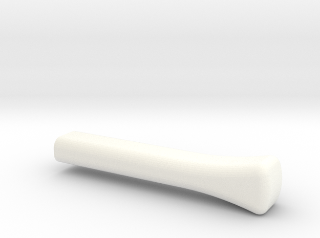 Lancia Fulvia Regler Lever in White Strong & Flexible Polished