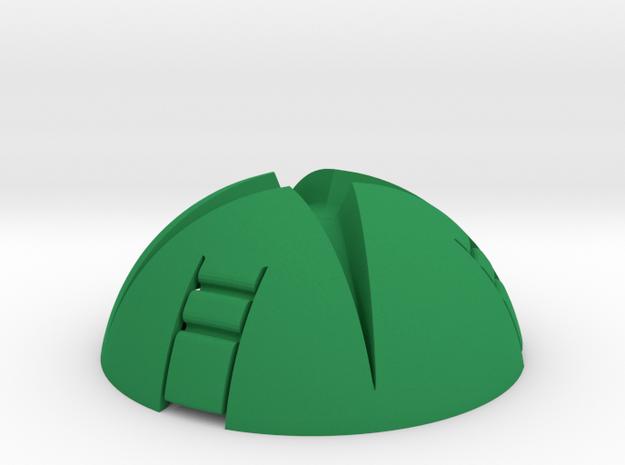"INTERNAL ""X"" for ""X Ring BOX"" - Gamer ""Ring Box"" in Green Processed Versatile Plastic"