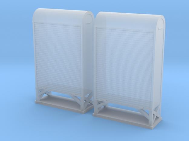 TJ-H04662x2 - Armoires à relais petit modele in Smooth Fine Detail Plastic