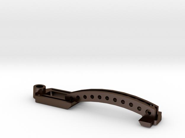 170412 Brazo Basculante 100 EVO in Polished Bronze Steel