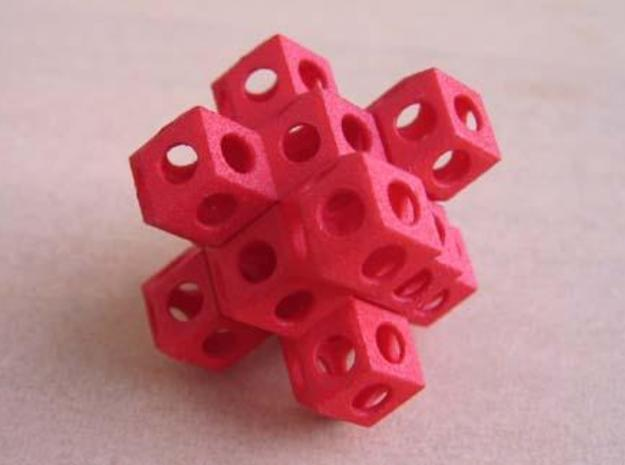 Nuclear Fusion Puzzle 3d printed Yes! It is possible to assemble.