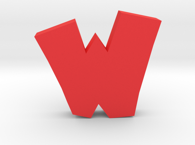 Walibi Logo in Red Strong & Flexible Polished: Extra Large