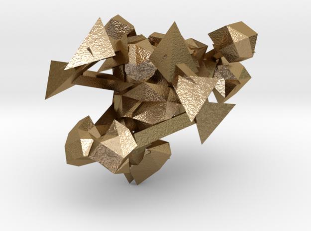 Friju in Polished Gold Steel