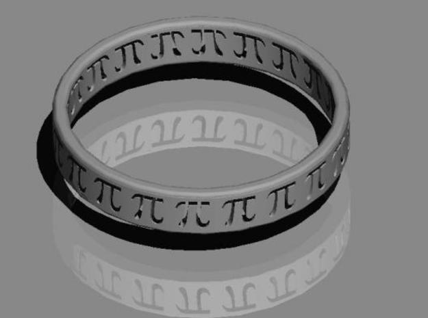 The Ring 3d printed The pi-ring.