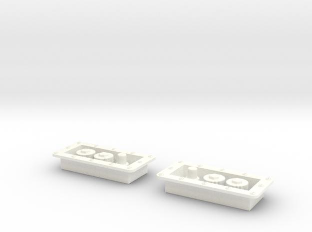1.10 Prises De Treuil CHINOOK in White Processed Versatile Plastic