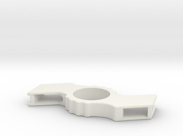 Samsung Fidget Spinner Body in White Natural Versatile Plastic