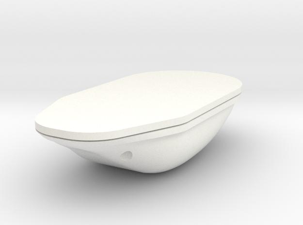 1.6 Antenne GPS in White Processed Versatile Plastic