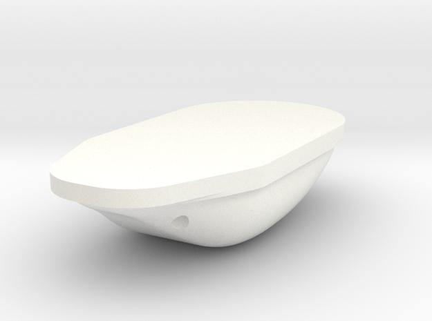 1.5 Antenne GPS in White Processed Versatile Plastic