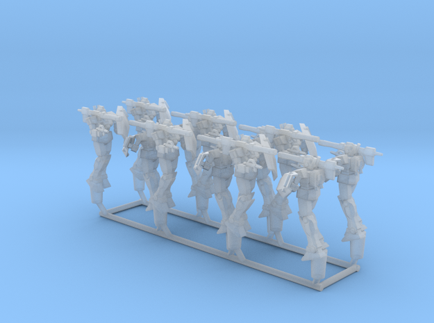 12x RGC-80 GM Cannon from Gundam 1:1000 in Smooth Fine Detail Plastic