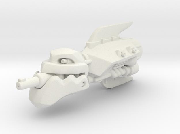Shoota Ship in White Strong & Flexible