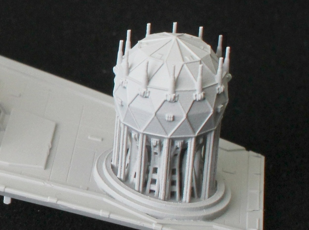 Shield Generator for 1/2700 Zvezda Imperial Class  in Frosted Ultra Detail