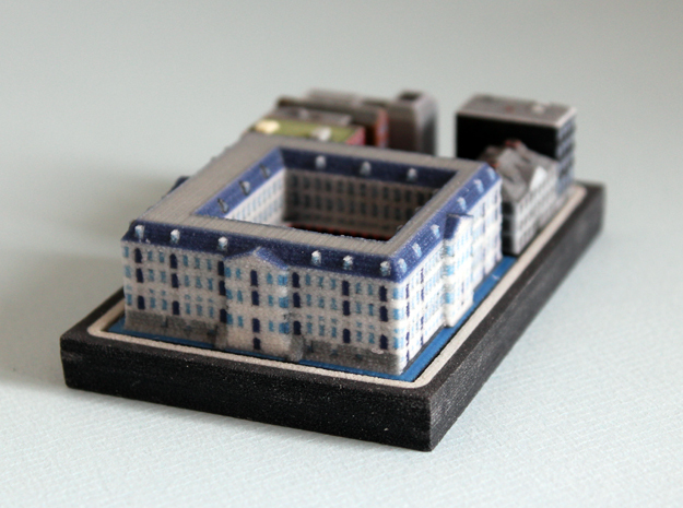 National Maritime Museum Amsterdam (5x4) in Full Color Sandstone