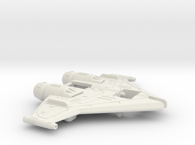 Twin-Cockpit Dueller's Wings in White Natural Versatile Plastic